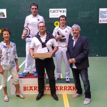 LOIDI Harri, GARATE et AGUIRRE champions 2016