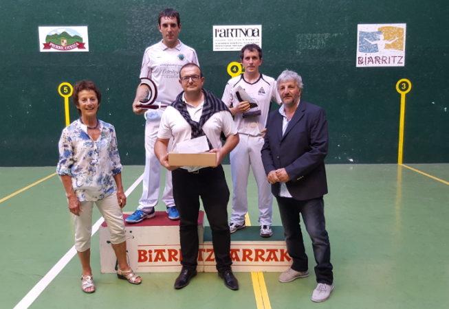 Finale Trophée A Pascual 2016