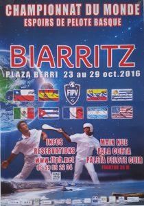 Affiche Championnats du Monde Espoirs