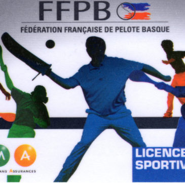 RENOUVELLEMENT LICENCE 2018