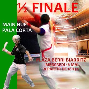 1/2 FINALES Trophée Arthur Pascual