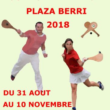 Tournoi Pala Ancha de Plaza Berri